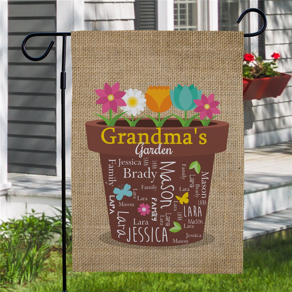 Personalized Flags | Spring Garden Flag