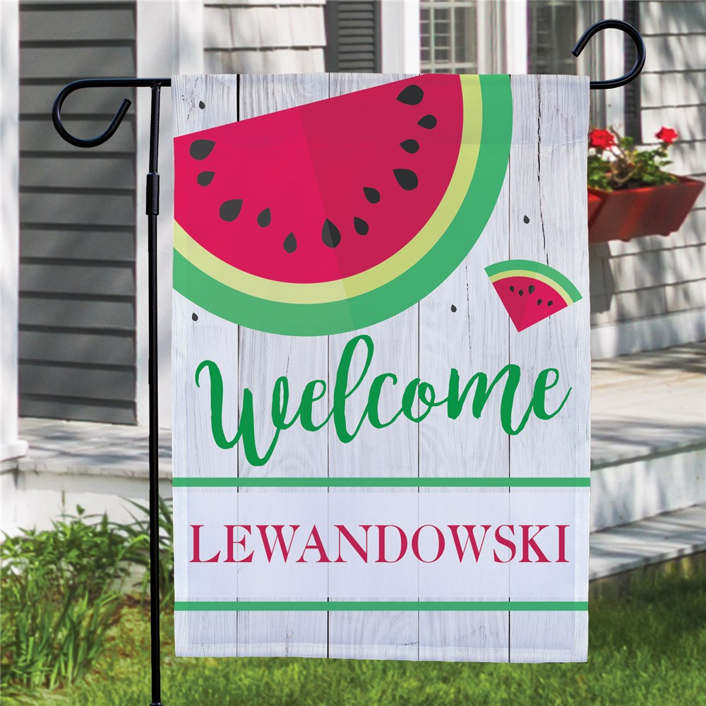 Custom Garden Flags | Small Watermelon Flag