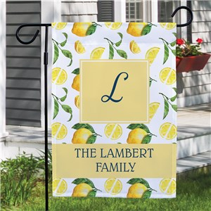 Custom Garden Flags | Lemon Garden Flags