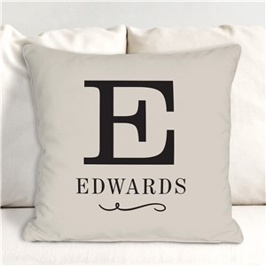 Personalized Throw Pillow | Simple Sentiments Home Decor