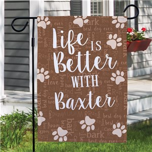 Custom Garden Flags | Pet Lover Garden Flag