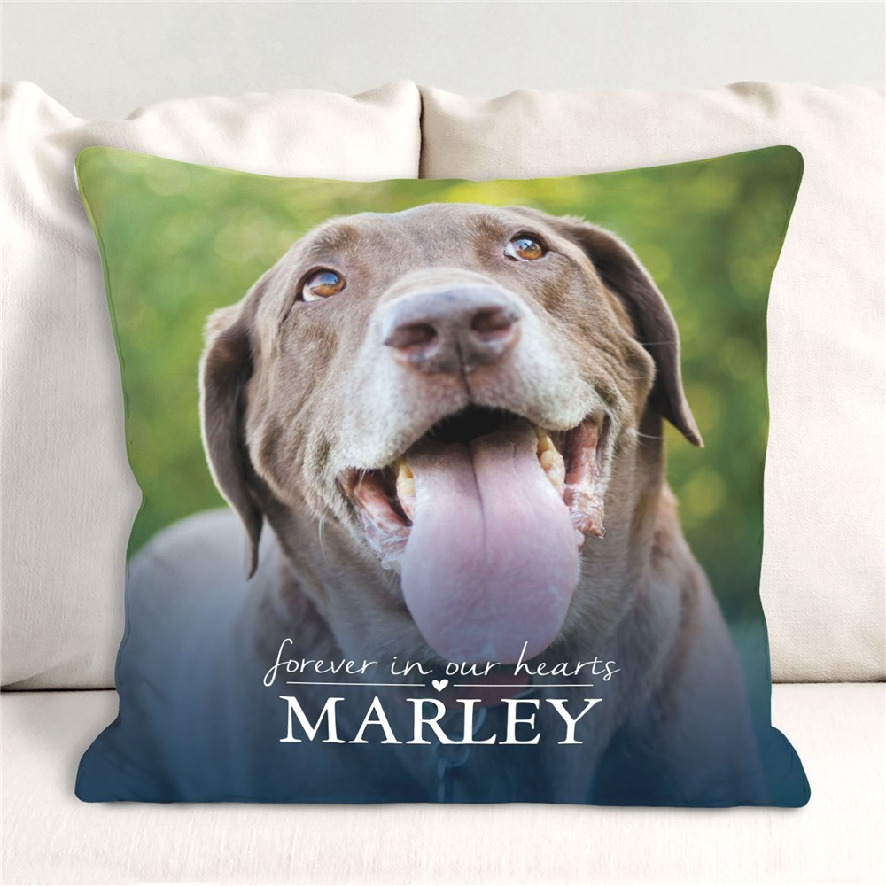Personalized Pet Memorial Pillow | Pet Photo Memorial Pillow