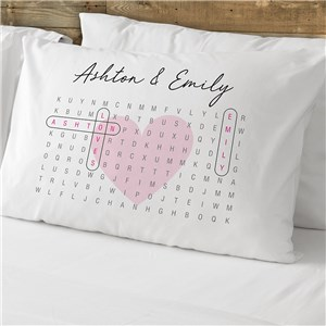 Personalized Couples Pillowcases | Romantic Bedroom Gifts