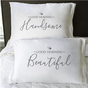 Valentine Pillows | Good Morning Pillowcase Set