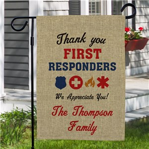 Thank You First Responders Flag