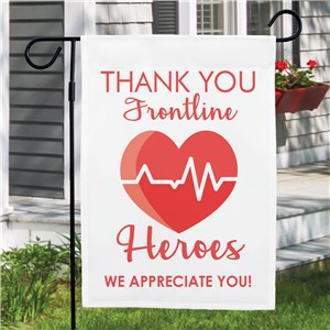 Thank You Frontline Heroes Flag