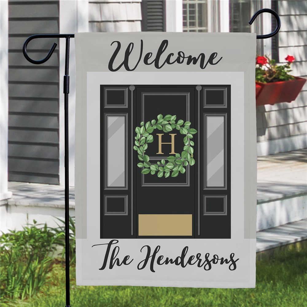 Personalized Front Door Garden Flag