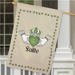 Irish Home Decor | Personalized Irish Flags