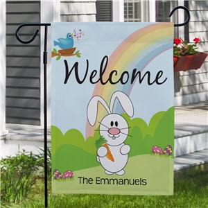 Personalized Spring Garden Flags |Spring Welcome Flag