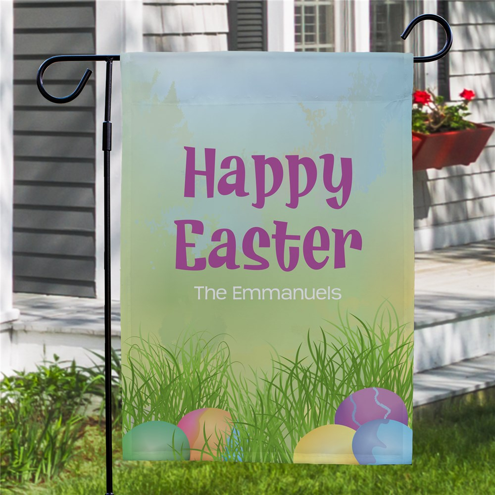 Personalized Easter Flags |Easter Yard Flag