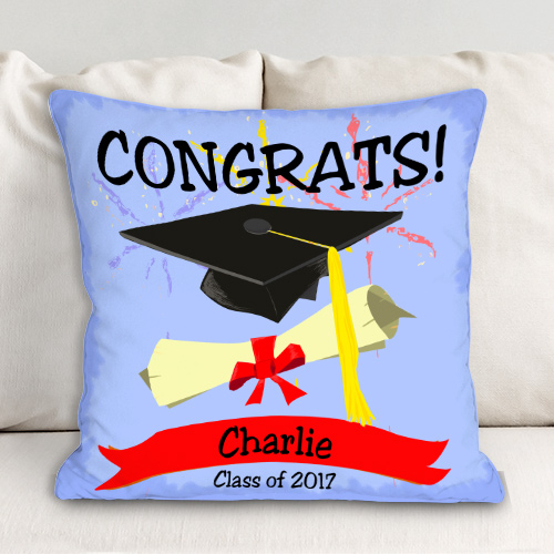 Personalized Graduation Throw Pillow 83028273