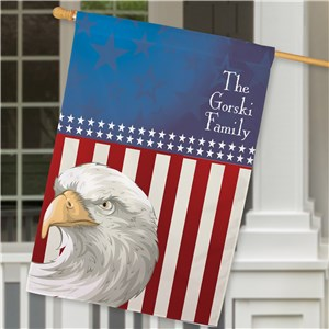 Personalized American Pride House Flag | Personalized House Flags