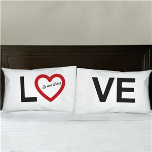 Love Personalized Pillowcase Set 83032420