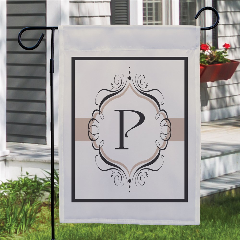 Monogram Personalized Garden Flag | Personalized Garden Flags