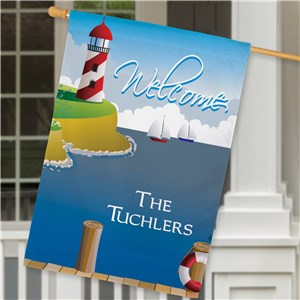 Personalized House Flags | Seaside House Flags