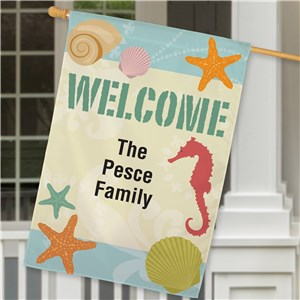 Personalized House Flags | Summer House Flags
