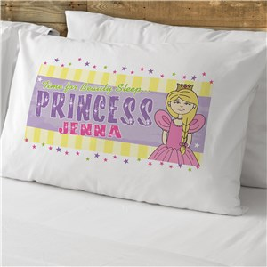 Princess Pillow Case For Kids | Personalized Kids Bedding