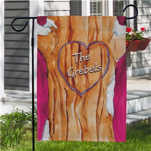 Personalized Family Tree Garden Flag 83052722
