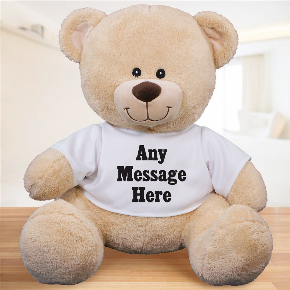 Custom Message Teddy Bear 830539X
