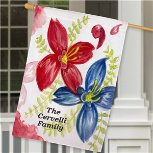Personalized Welcome House Flag | Personalized House Flags