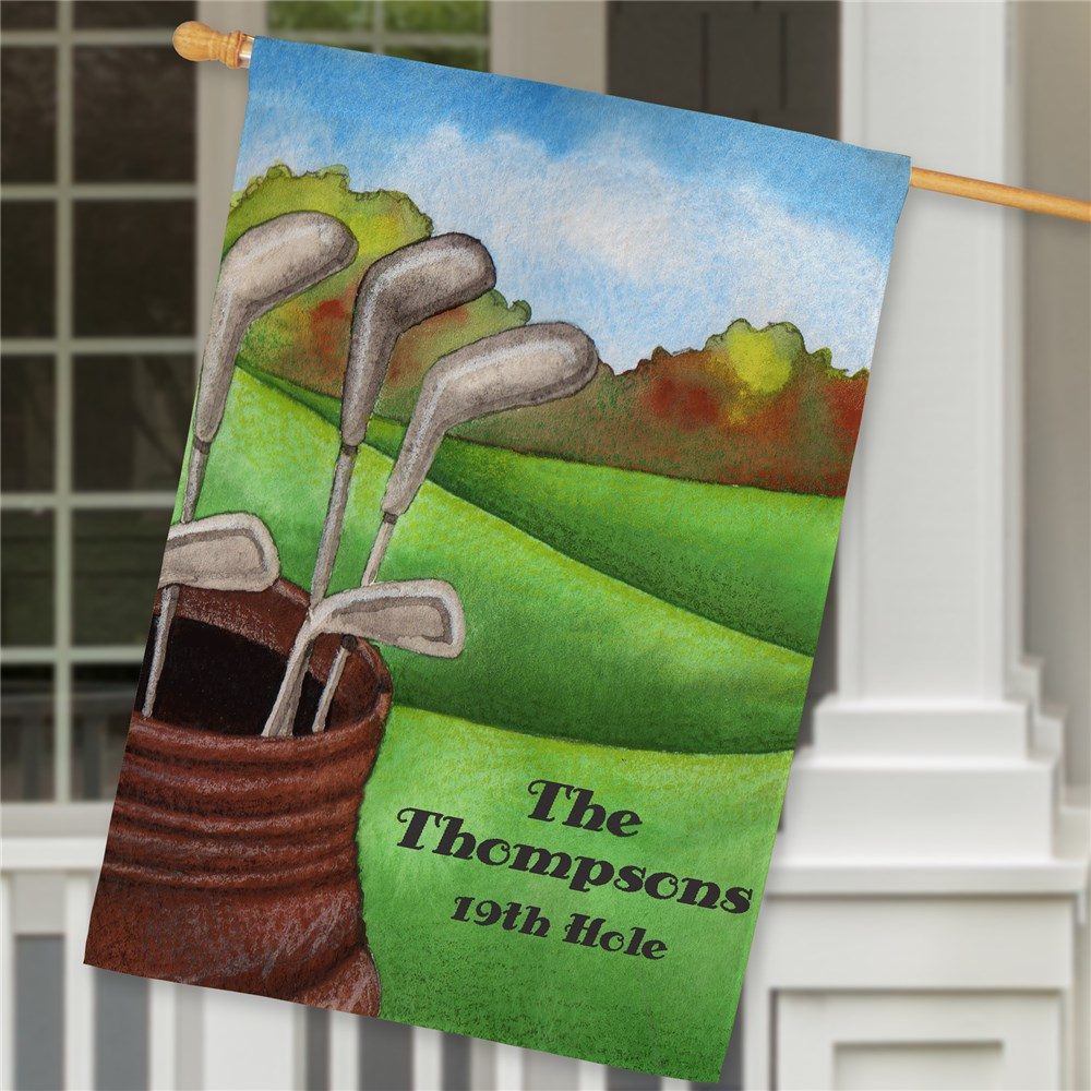 Personalized Golf House Flag | Personalized House Flags