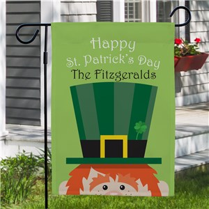 St. Patrick's Day Flag | Personalized Garden Flag