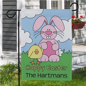 Easter Garden Flags |Personalized Spring Flags