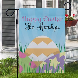Personalized Garden Flags | Happy Easter Yard Flag