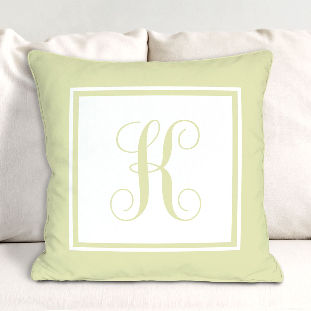 Monogrammed Throw Pillow 83062773
