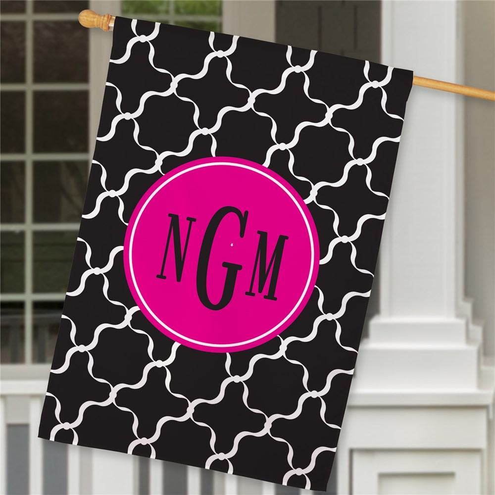 Monogram Madness House Flag | Personalized House Flags