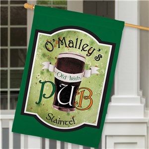 Decorative House Flags | Irish Personalized House Flag