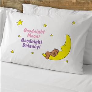 Goodnight Moon Pillowcase | Personalized Pillow Cases