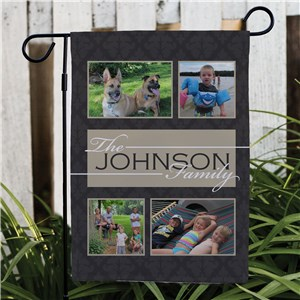 Family Collage Photo Garden Flag | Personalized Garden Flags