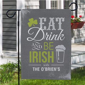 Irish Garden Flags | Personalized Garden Flags