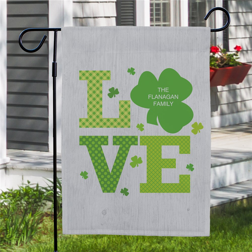 Personalized Garden Flags | Irish Garden Flags