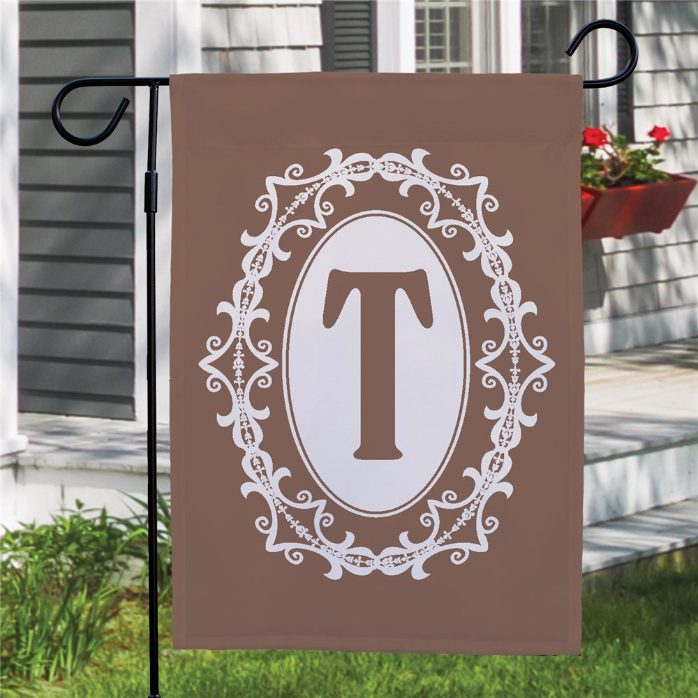 Personalized Family Initial Garden Flag | Personalized Garden Flags