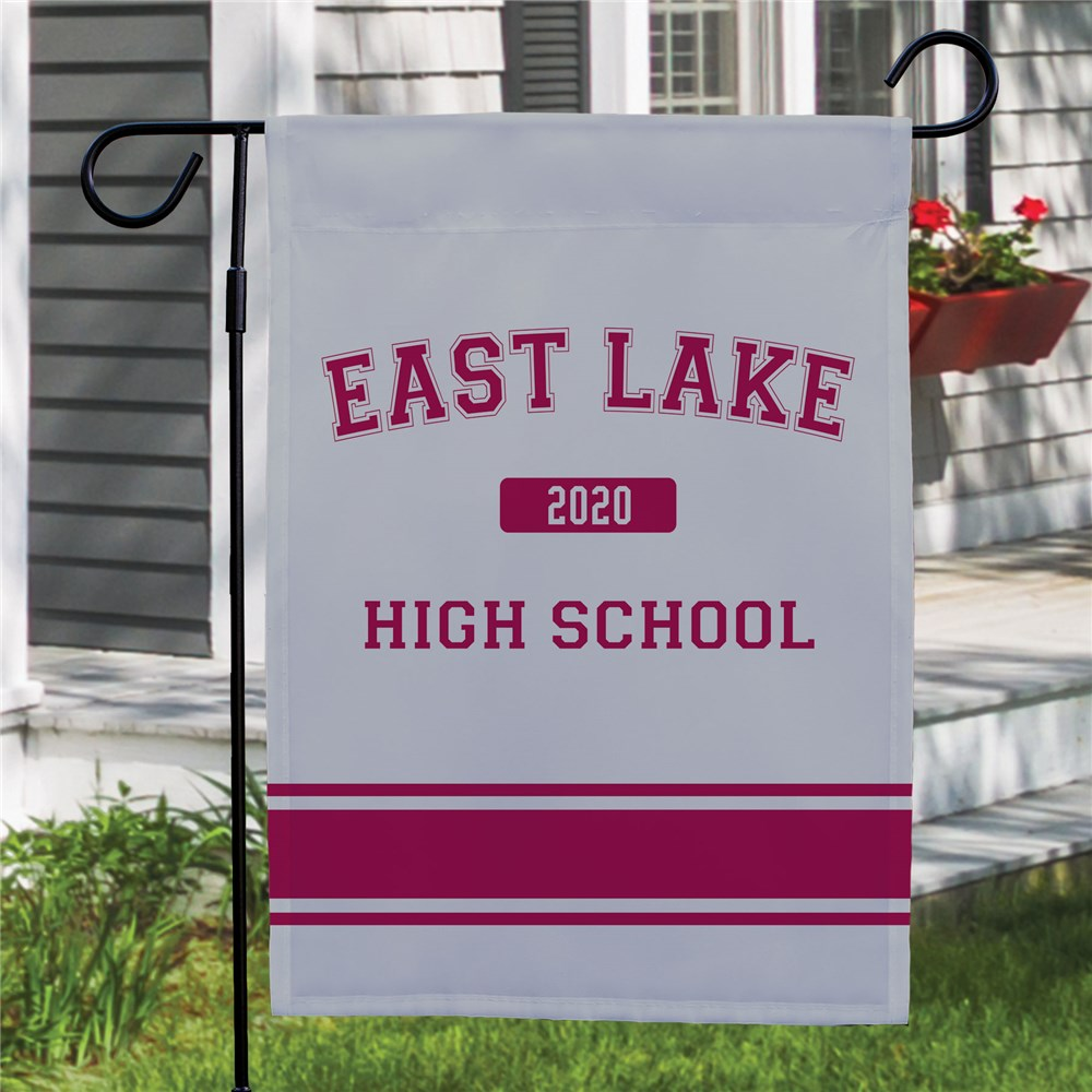 Personalized High School Pride Garden Flag 83075422