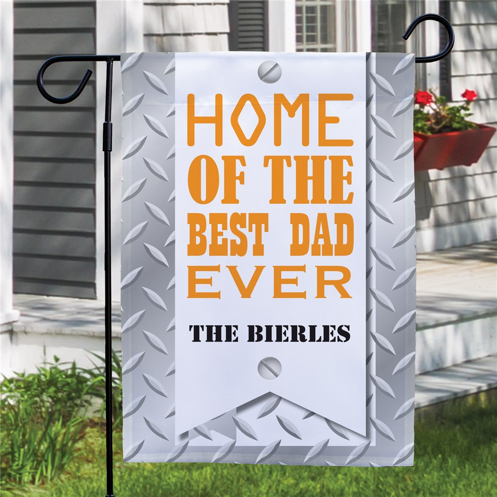 Personalized Dad Garden Flag | Father's Day Gifts