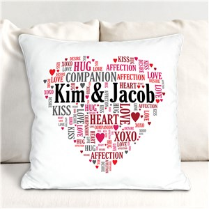 Couples Love Throw Pillow | Romantic Home