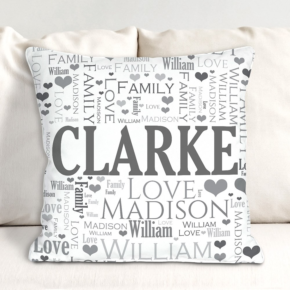 Picture Perfect Throw Pillow | Personalized Housewarming Gifts