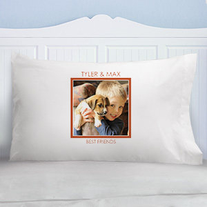 Any Message Photo Pillowcase 83082740