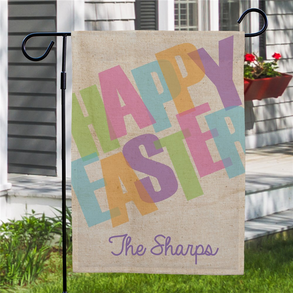 Spring Garden Flags |Easter Decorations for the Home