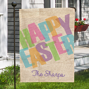 Happy Easter Garden Flag 83082892X