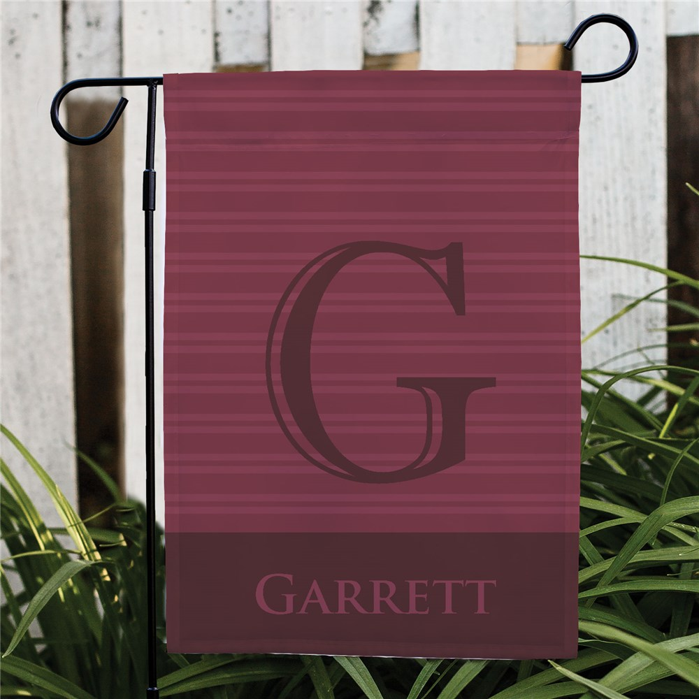 Personalized Family Initial Garden Flag | Best Housewarming Gifts