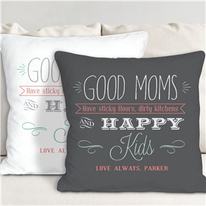 Sayings Personalized Throw Pillow | Mom Pillow