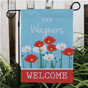 Personalized Summer Garden Flag | Personalized Garden Flags