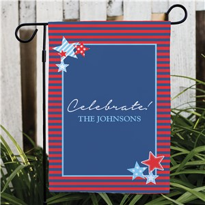 Patriotic Garden Flag | Personalized Garden Flags