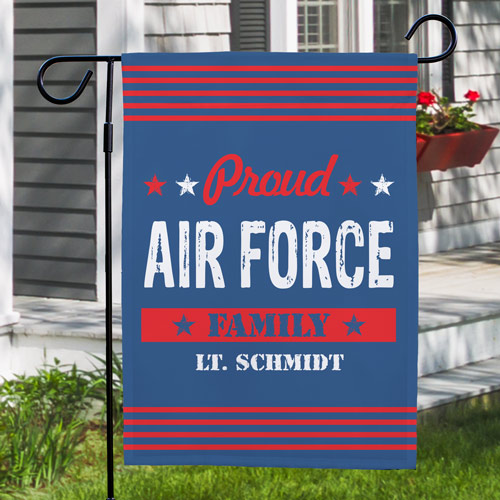 Military Garden Flag | Personalized Garden Flags