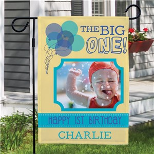 First Birthday Garden Flag | Personalized Garden Flags