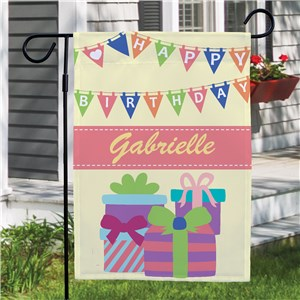 Birthday Girl Garden Flag | Personalized Garden Flags